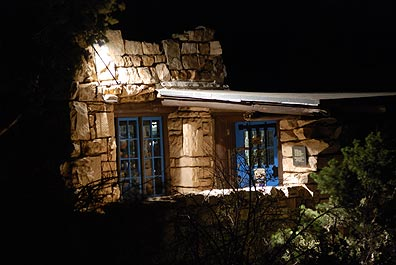 Lookout Studio at Night