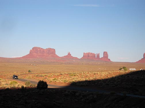 Monument Valley from Goulding's Lodge