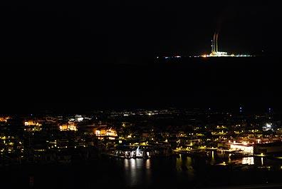 Wahweap Marina at Night