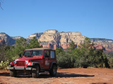 My Jeep in Sedona