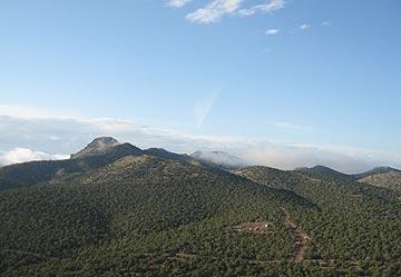 Mountains Near Seligman