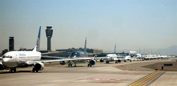 Planes on Line