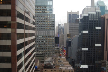 View from the Sheraton Hotel and Towers