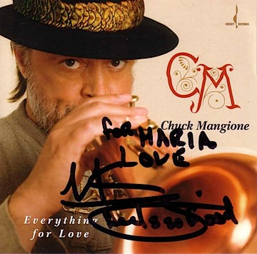 Chuck Mangione Autographed CD