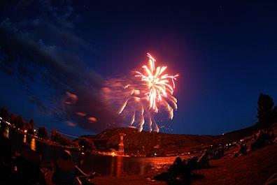 Fireworks in Brewster