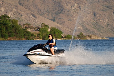 Jetski at Lake Pateros