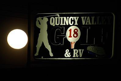 Quincy Golf Moon