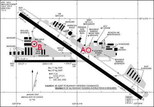 san luis obispo airport map Airport Codes Sbp An Eclectic Mind san luis obispo airport map