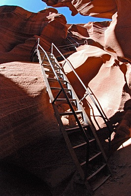 Lower Antelope Canyon Stairs