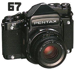 Pentax 67 Camera