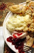Half plate of Food