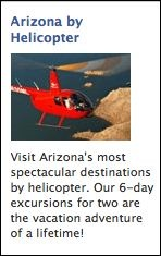 Arizona by Helicopter