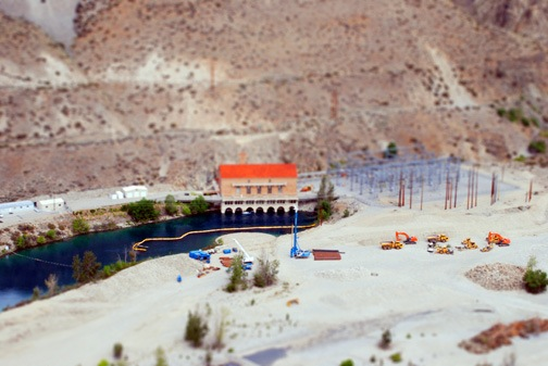 Lake Chelan Pumphouse Miniature
