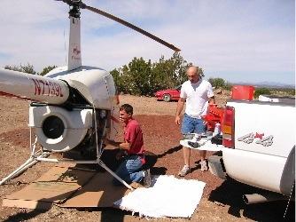 Repairs at Howard Mesa