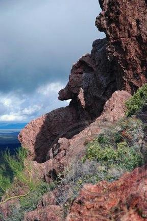 On Vulture Peak Trail