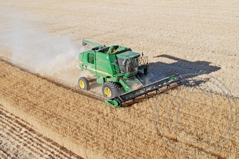 Combine from Air