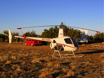 R22 and Toyota at Howard Mesa