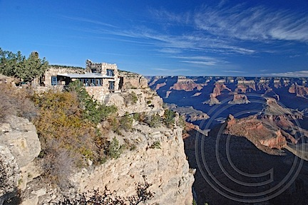 Lookout Studio at the Grand Canyon by Maria Langer