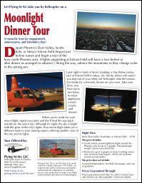 Moonlight Dinner Tour