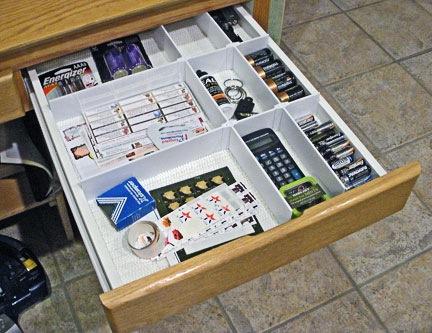 Junk Drawer Reorganized