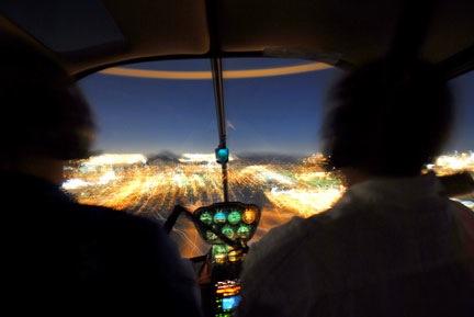 Night Flight Over Phoenix