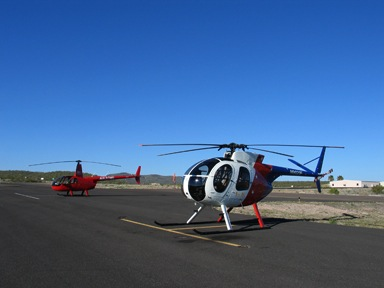Two Helicopters in Wickenburg
