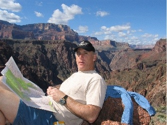 Mike in the Grand Canyon