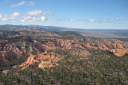 Near Bryce Canyon