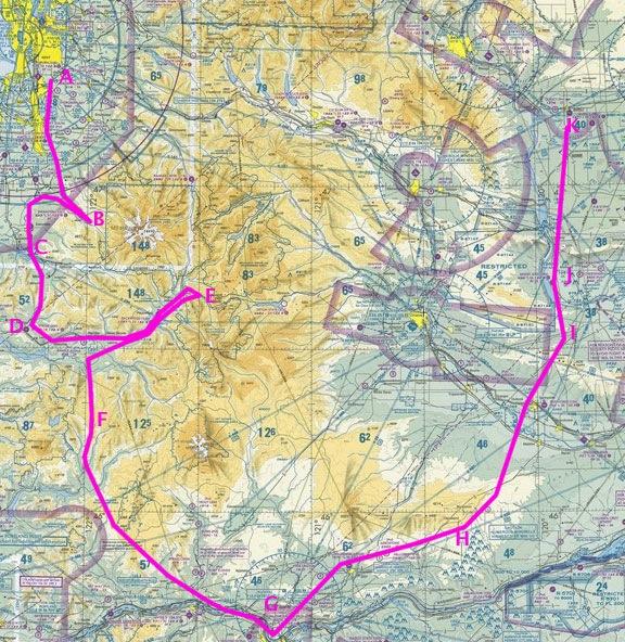 Big Detour Map