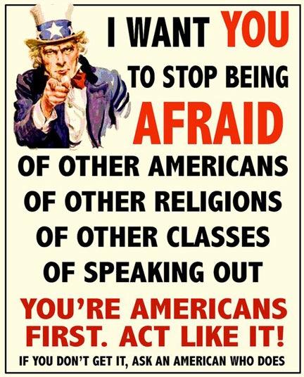 Act Like an American