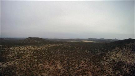 White Haze on Coconino Plateau