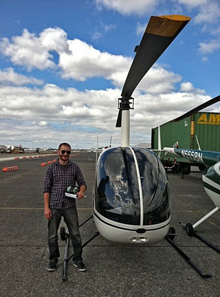 Matt and the R22