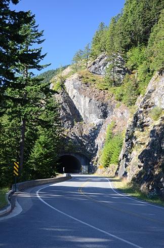 Tunnel on Hurricane Ridge Road