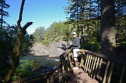 Mike At Cape Flattery