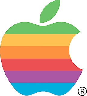Six-Color Apple Logo
