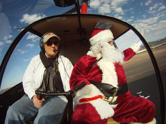 Santa and Pilot