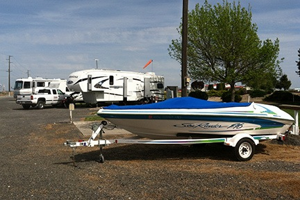 My Boat at the Campground
