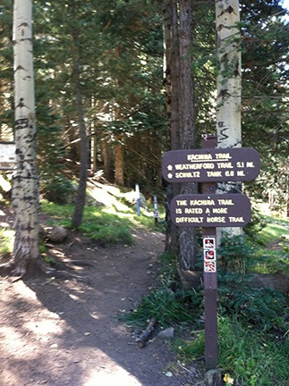 Kachina Trail Trailhead