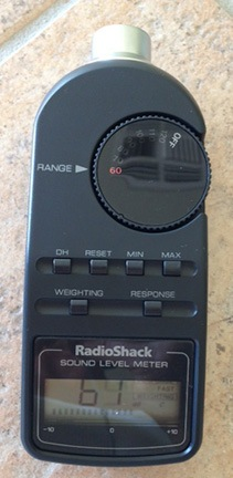 Radio Shack Decibel Meter