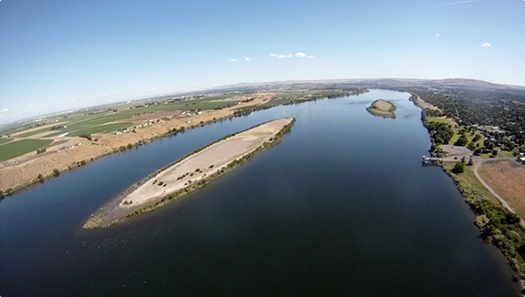 Columbia River at Richland