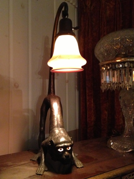 The Monkey Lamp