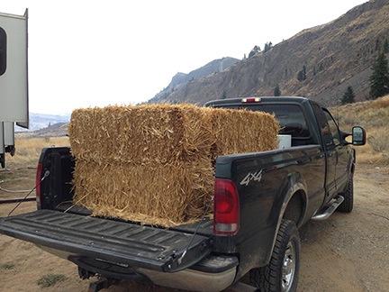 Straw in Truck