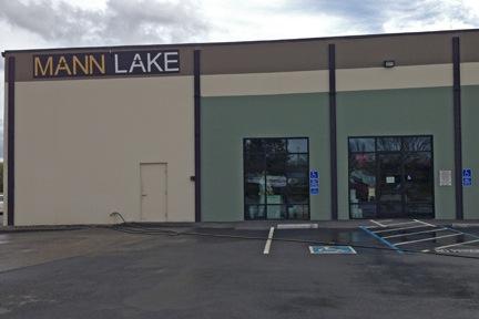 Mann Lake's CA Location