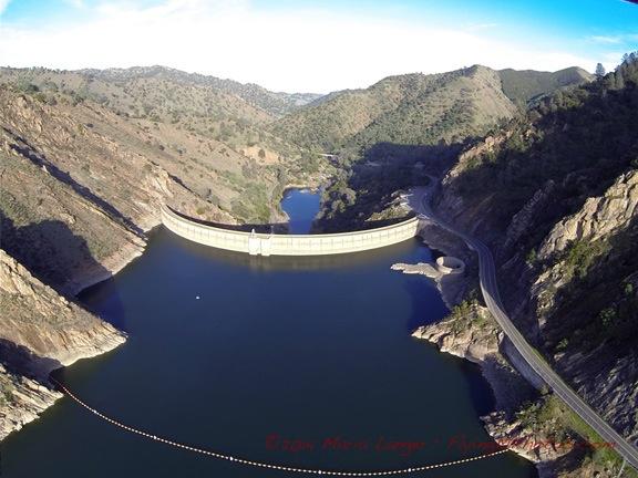 Dam at Lake Berryessa