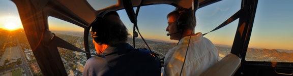 Phoenix Sunset Flight