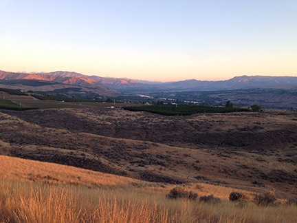 Wenatchee Valley in Shadows