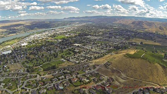 Wenatchee from the Air