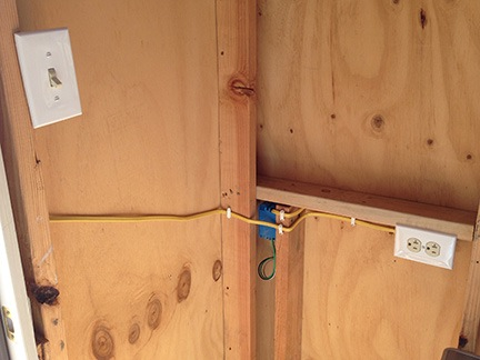 Construction Wiring The Shed An Eclectic Mind