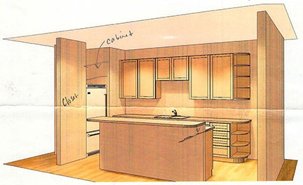 Kitchen Drawing