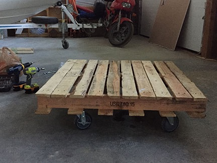 Finished Pallet Dolly